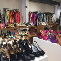 High above Wooster Street in Soho, the Mahna Mahna showroom (which rents high-end clothing to celebs and stylists) is cleaning out its archives beginning Monday. A lot of the merchandise is from 2013 and 2014.