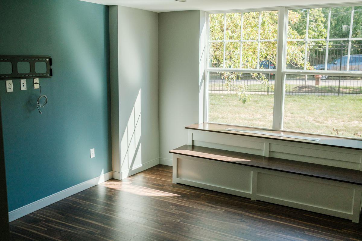 A room inside the new Smith Village Rehab Center in Morgan Park, Wednesday morning, Sept. 29, 2021. Mark Capapas/Sun-Times