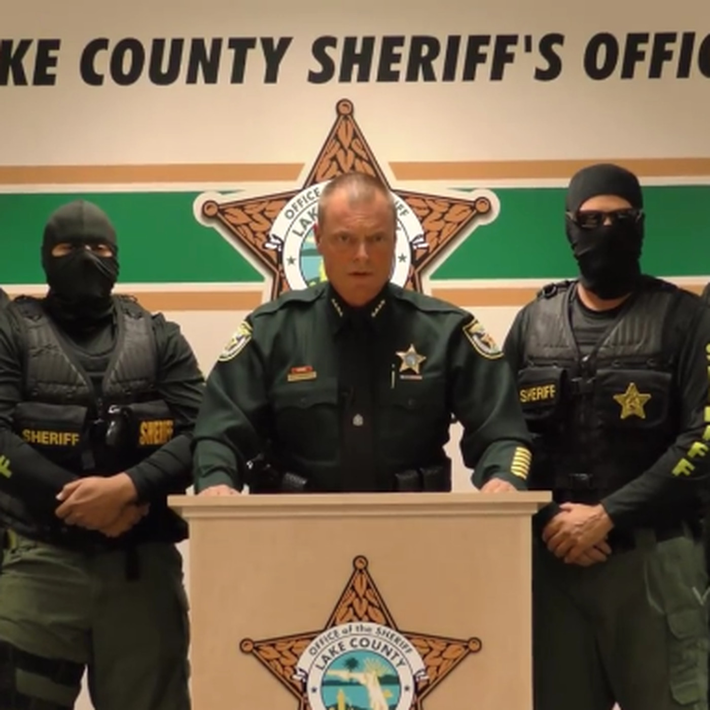"""We're coming for you — run"""": a Florida sheriff's over-the"""