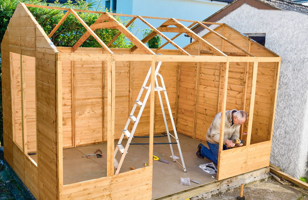 All About Garden Sheds This Old House