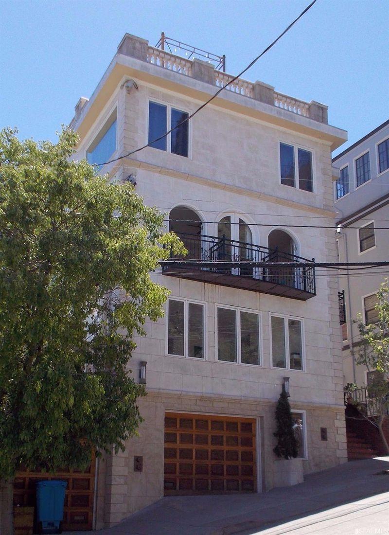Gorbachev House In San Francisco House Plan 2017