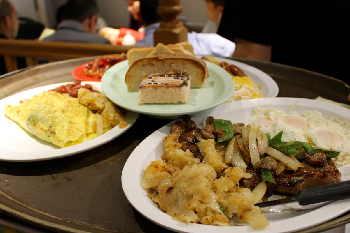 Neighborhood - more breakfast food