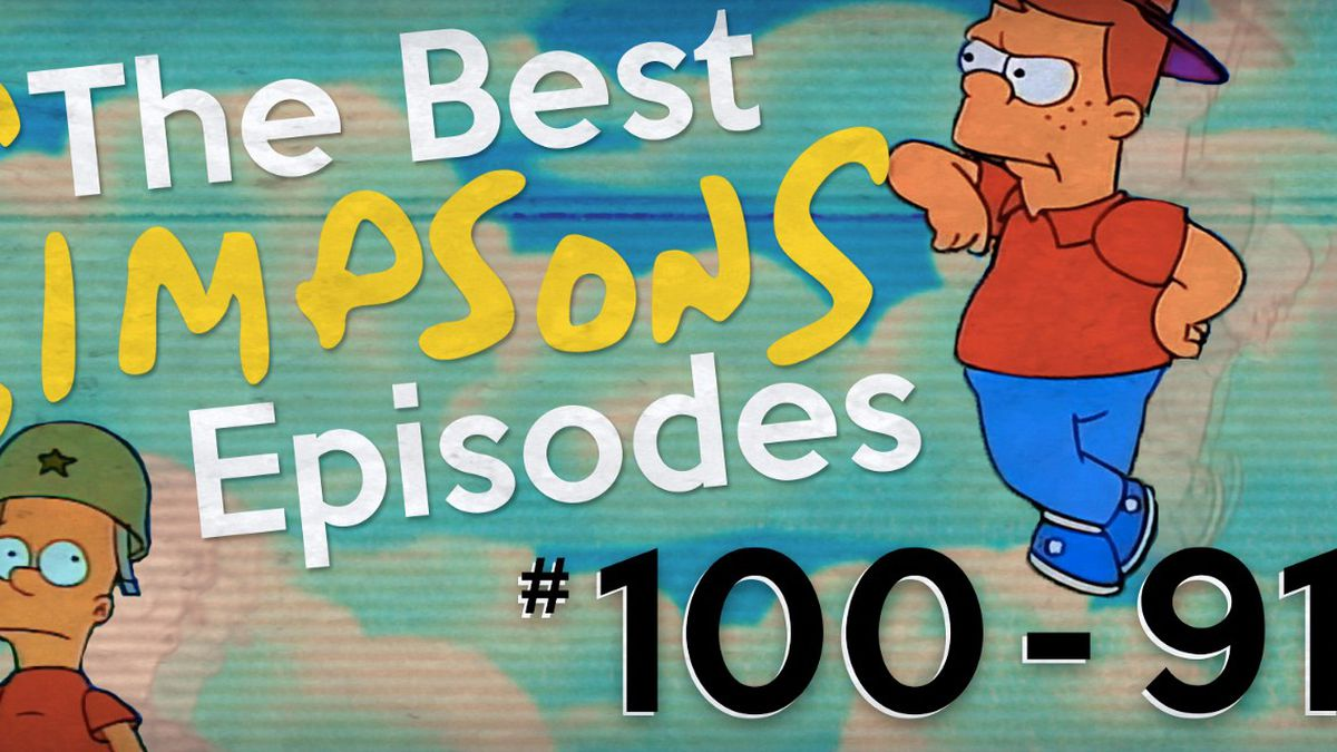 Simpsons Christmas Episodes.The Best Simpsons Episodes 100 91 The Ringer