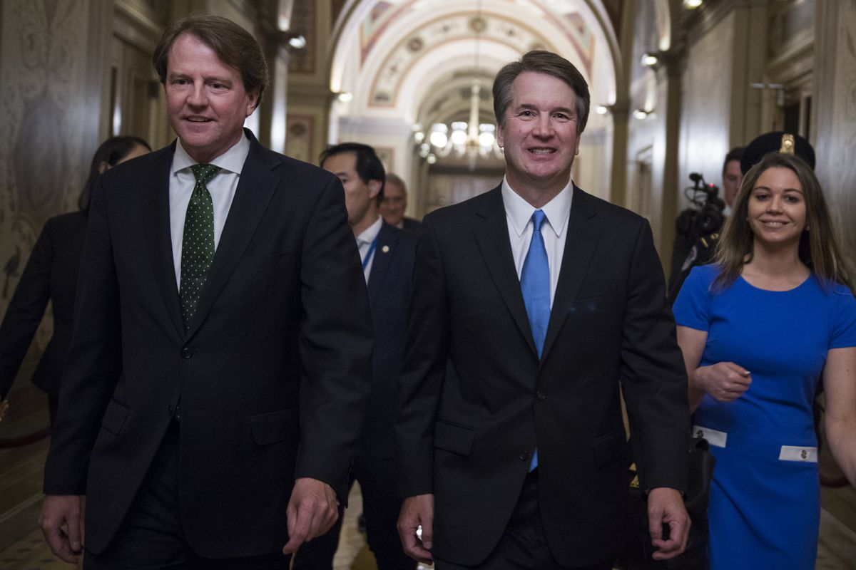 McGahn and Brett Kavanaugh