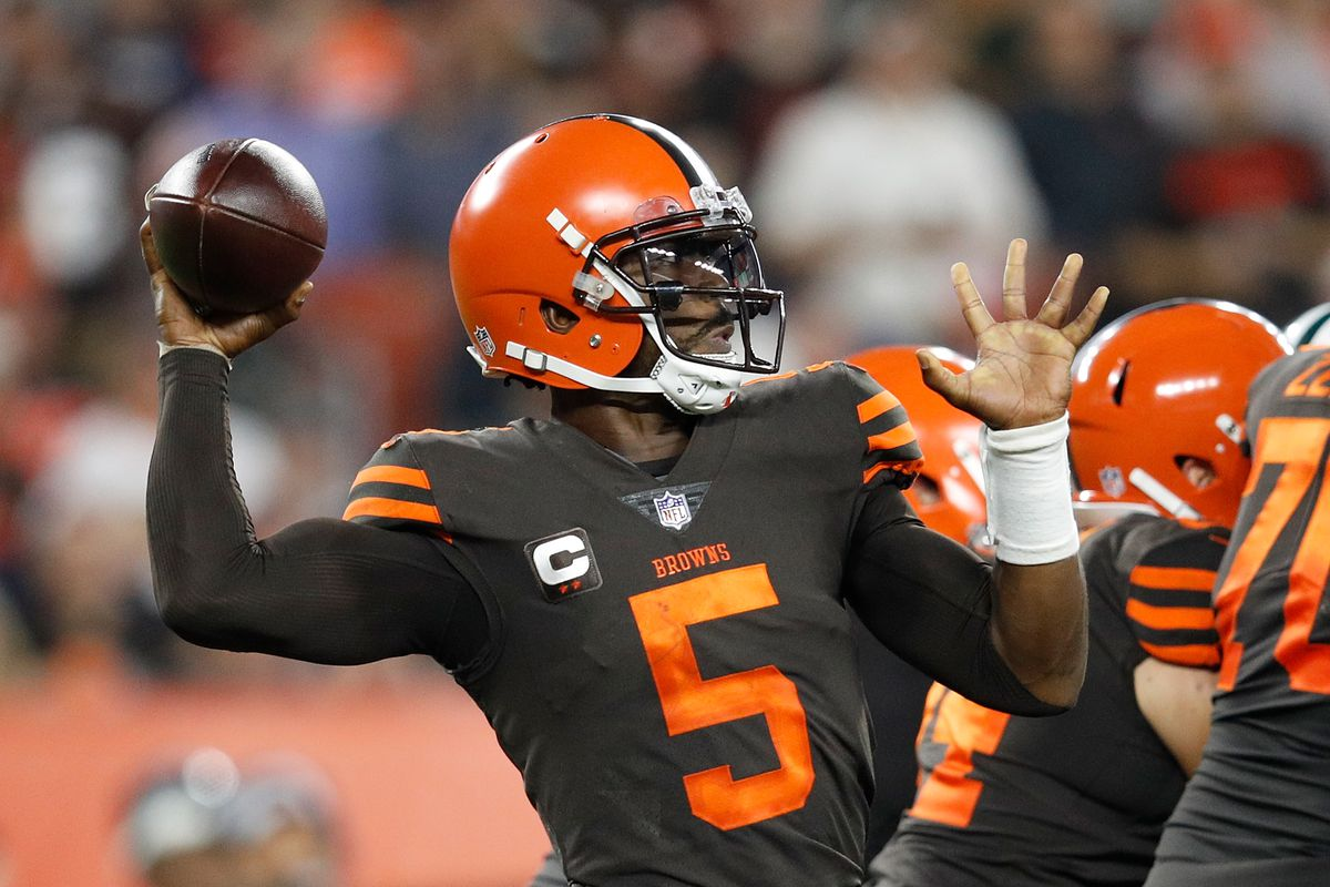 26f637b7 Cleveland Browns Free Agent Review: QB Tyrod Taylor - Dawgs By Nature