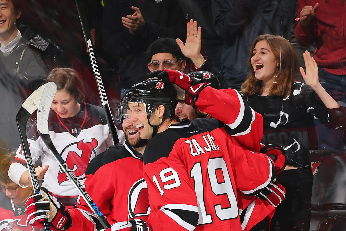 on sale b0085 0ac67 Palmieri, Zajac, & New Jersey Devils Decisively Defeated ...