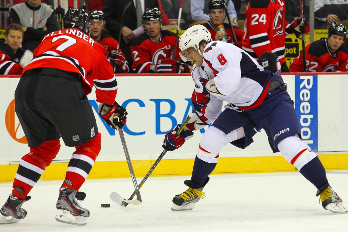 Henrik Tallinder played against Alex Ovechkin earlier in the season. It looks like he will get to do so again.
