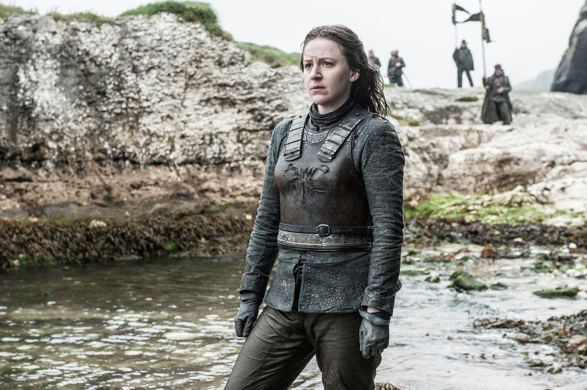 Game of Thrones season 6 - Yara Greyjoy in the Iron Islands