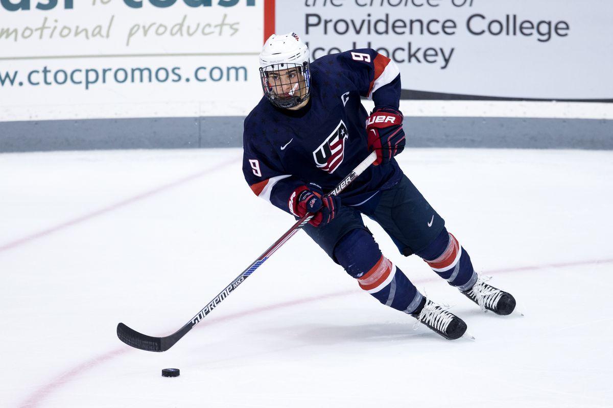 U.S. NTDP U18 captain Luke Kunin is one of the highlights of Wisconsin's recruiting class