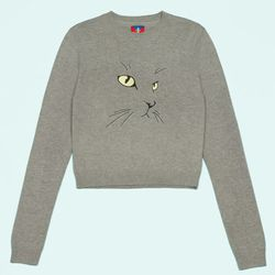 """The OC x Glamour cat sweater <a href=""""http://www.openingceremony.us/entry.asp?pid=6154"""">is back</a> in new colors."""