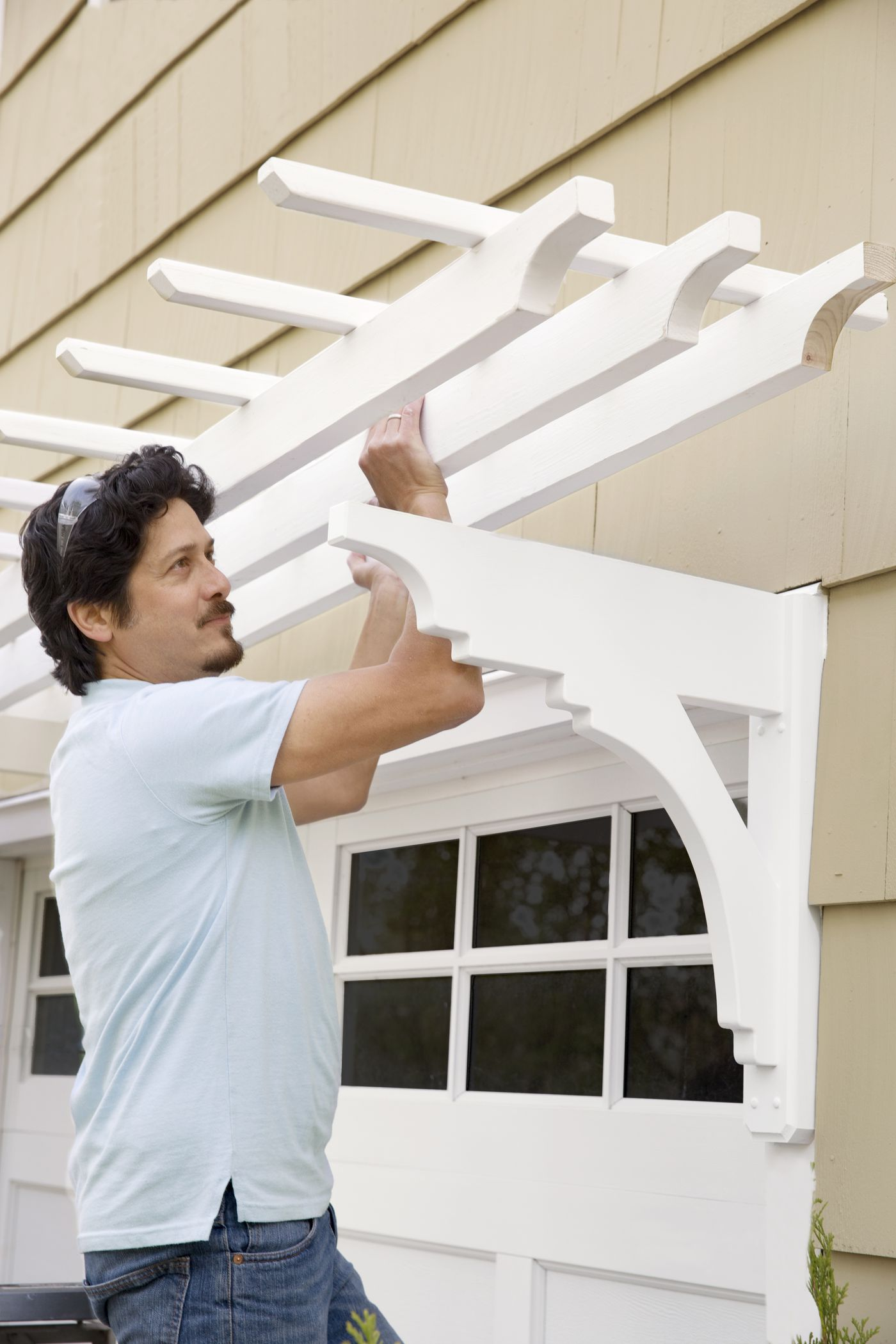 Garage Pergola Build One In 12 Steps This Old House