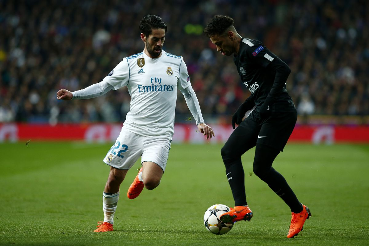 Image Result For Real Madrid Psg Champions League Round Of First