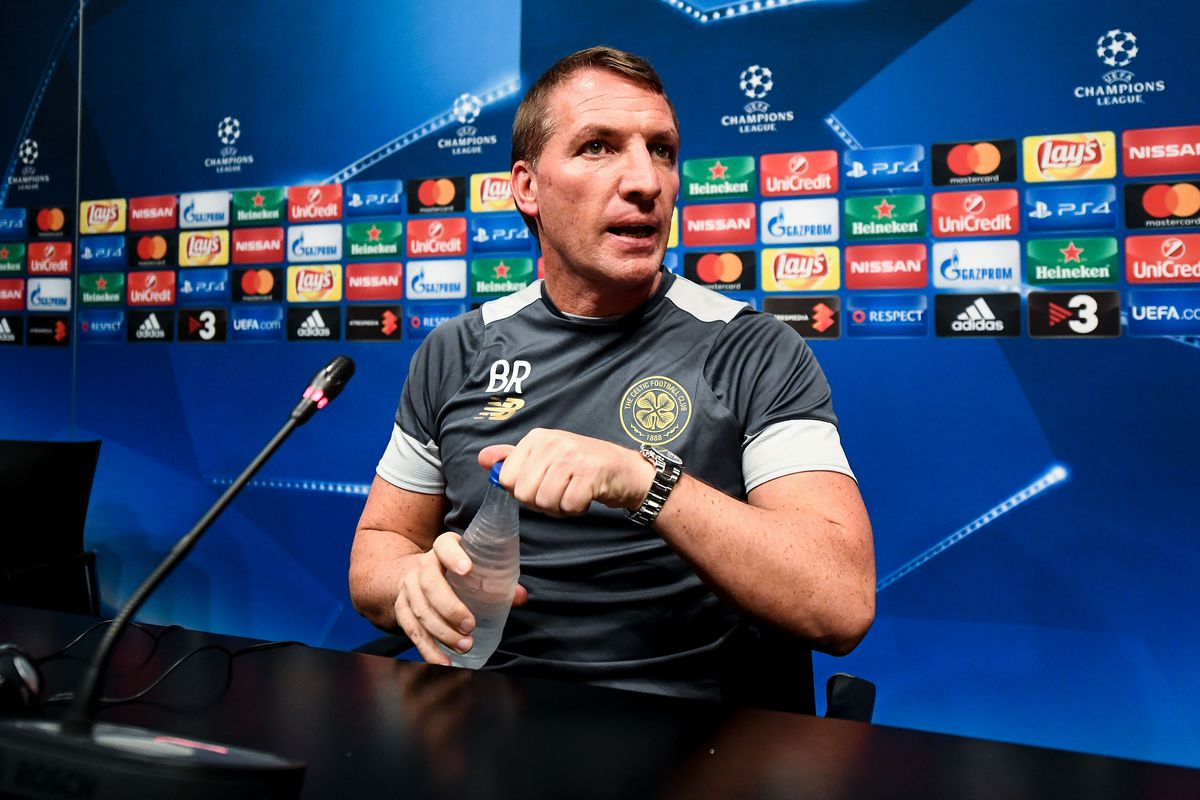 Celtic FC Training Session and Press Conference