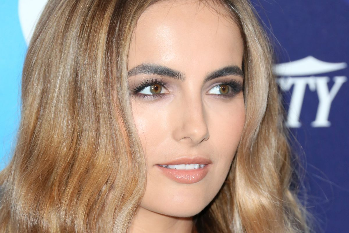 Well-browed star Camilla Belle.