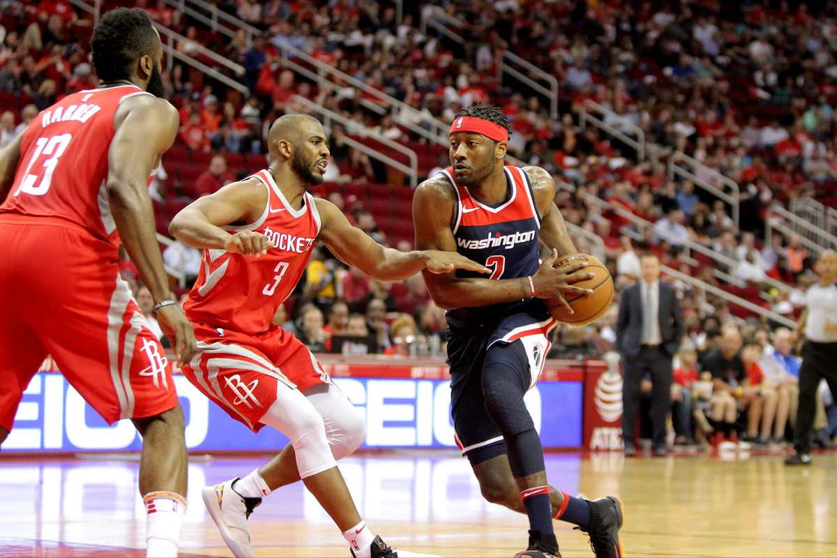 52560940be74 Houston Rockets vs. Washington Wizards game preview - The Dream Shake