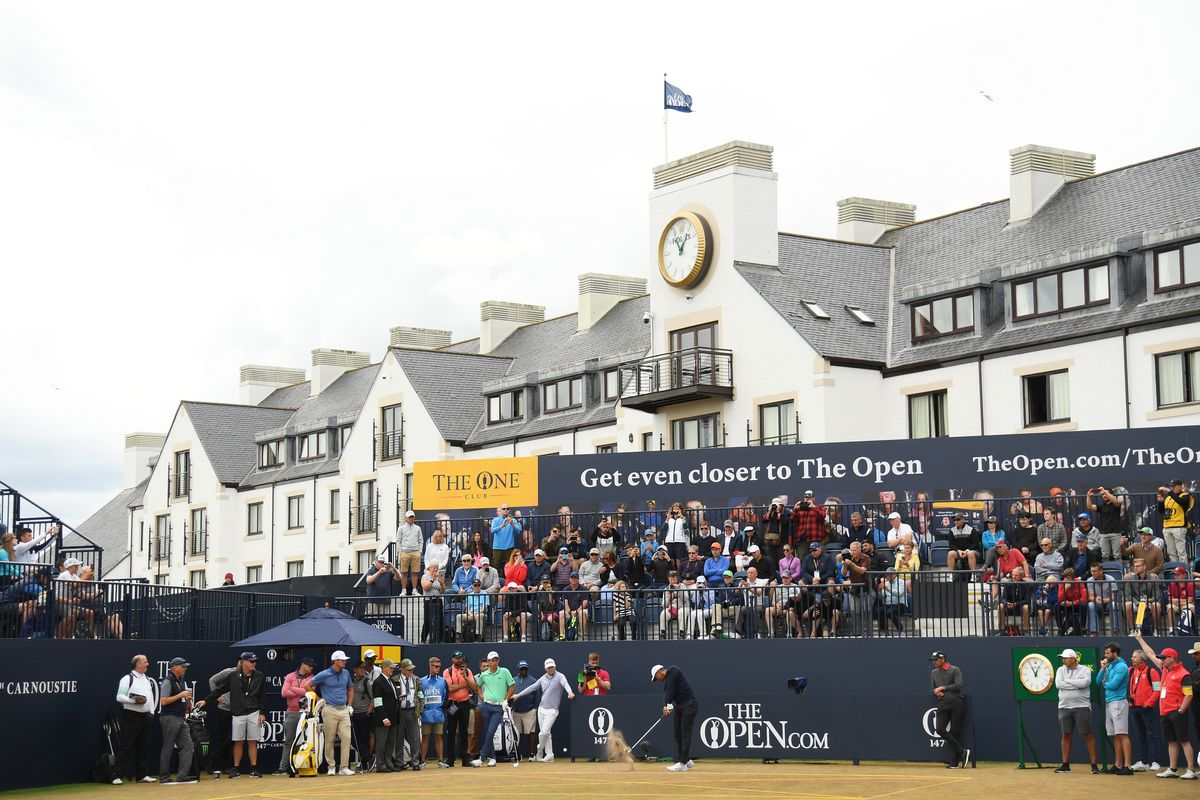 british open 2018  tee times  pairings for thursday
