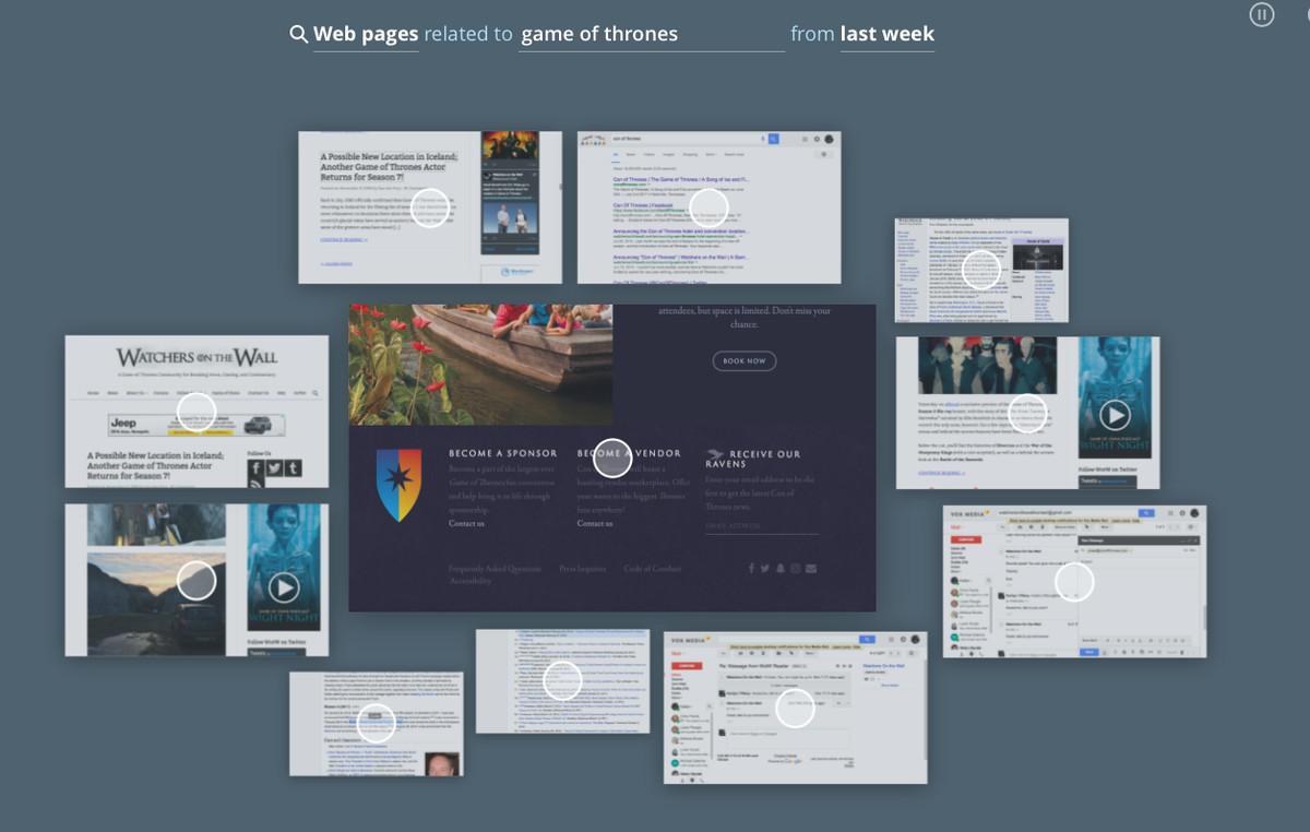 atlas recall screenshot