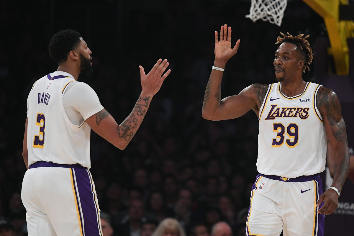 Anthony Davis Explains How Dwight Howard Has Helped Lakers
