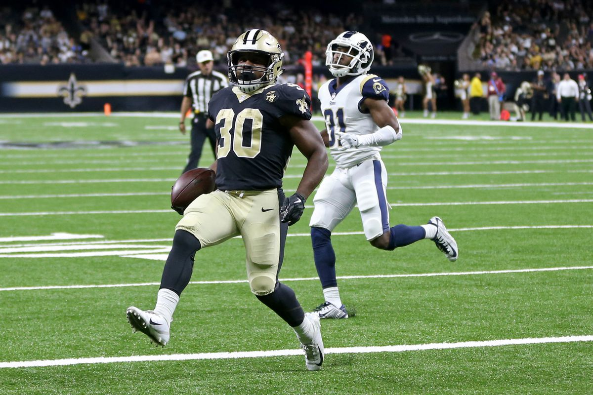 La Rams 0 New Orleans Saints 28 Game Recap Turf Show Times