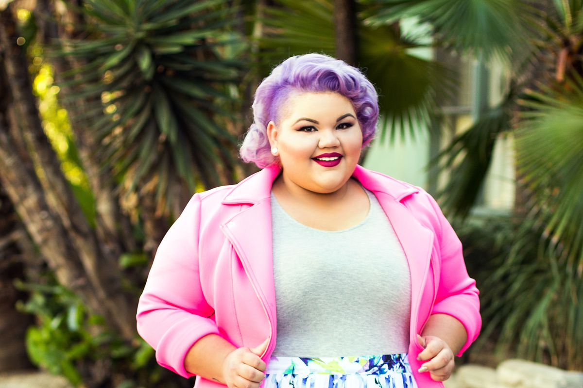 a48436ae21d Ashley Nell Tipton on Designing Plus-Size Clothing   I ve Broken All the  Rules . New ...