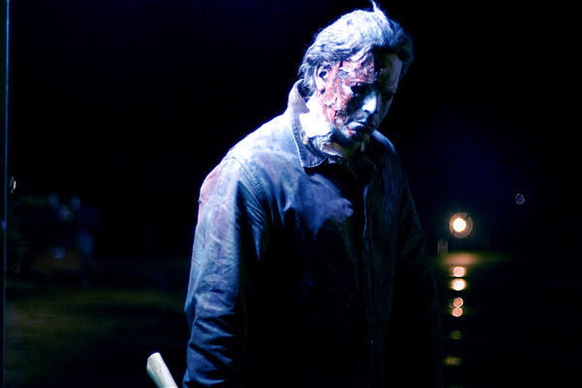 """Tyler Mane stars as Michael Myers in Rob Zombie's """"Halloween II,"""" a sequel to a remake."""