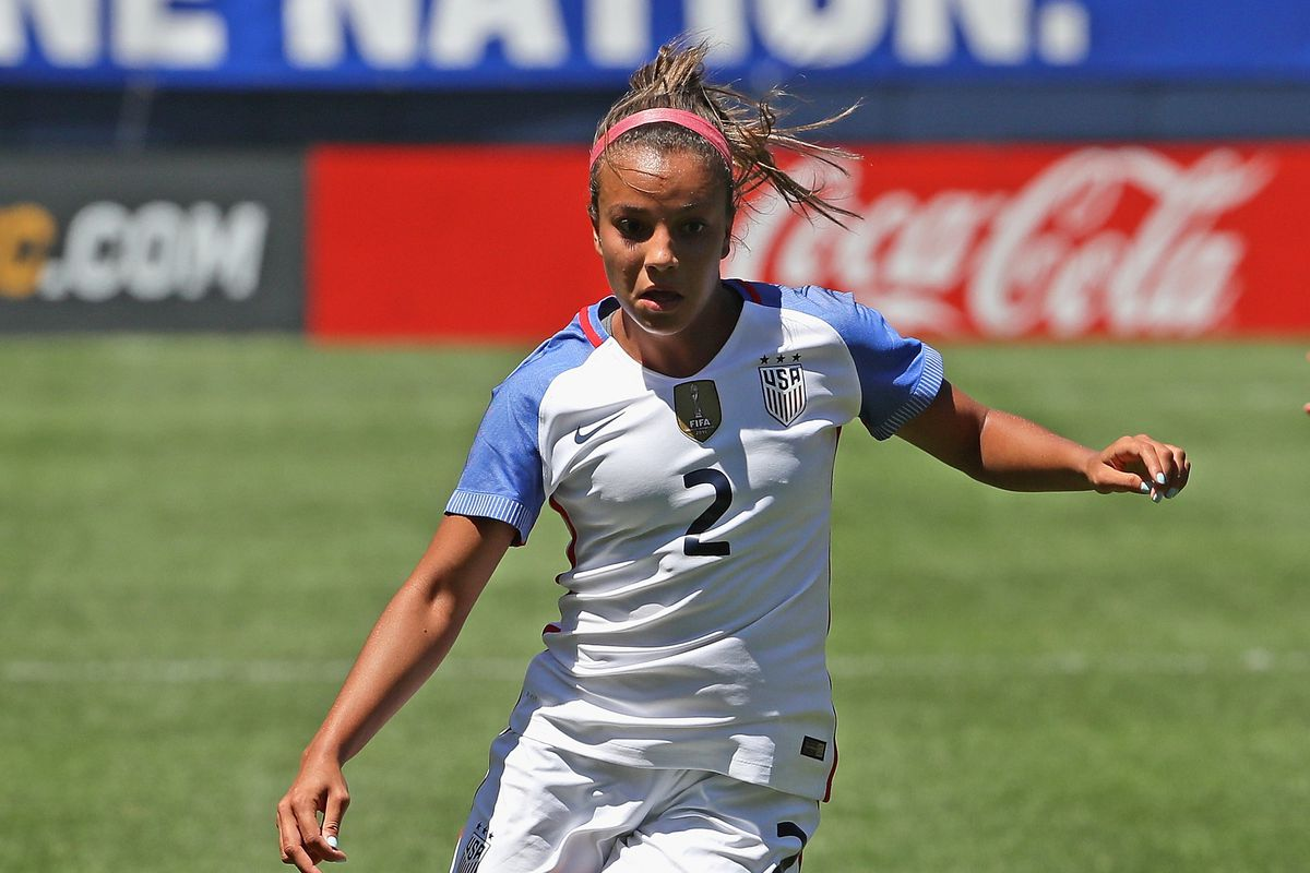 18 year old Mallory Pugh set to make her Olympic debut.