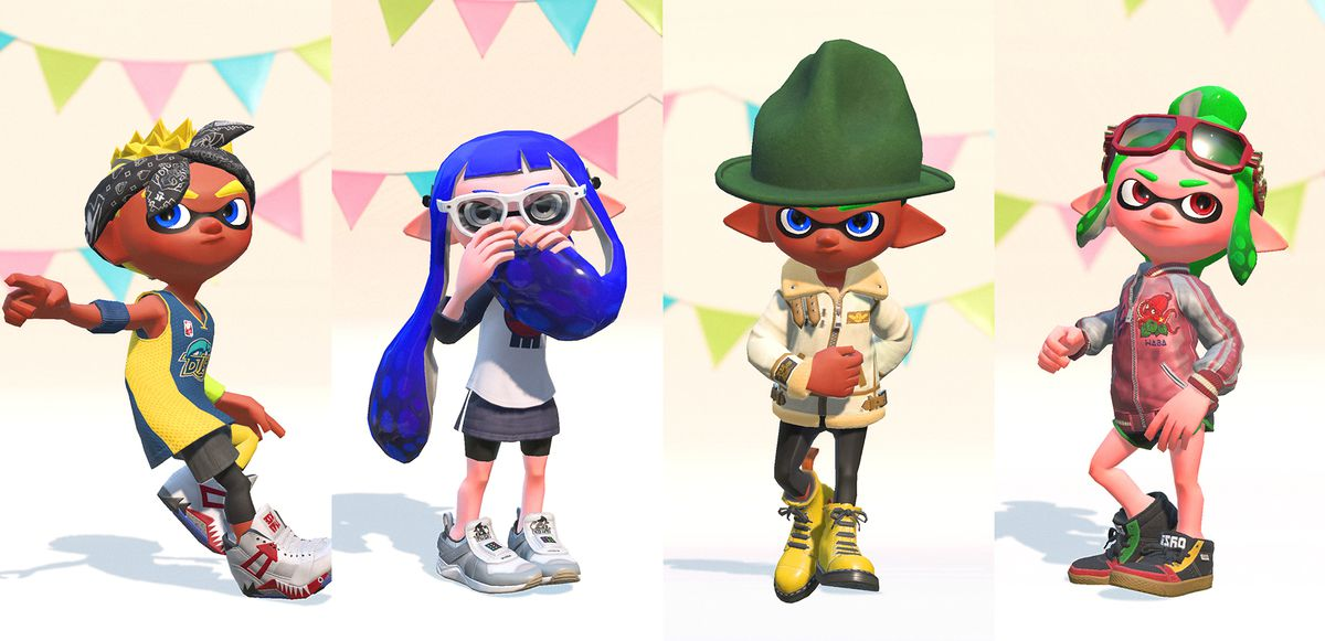 splatoon s stylish world was inspired by skateboarding and hip hop
