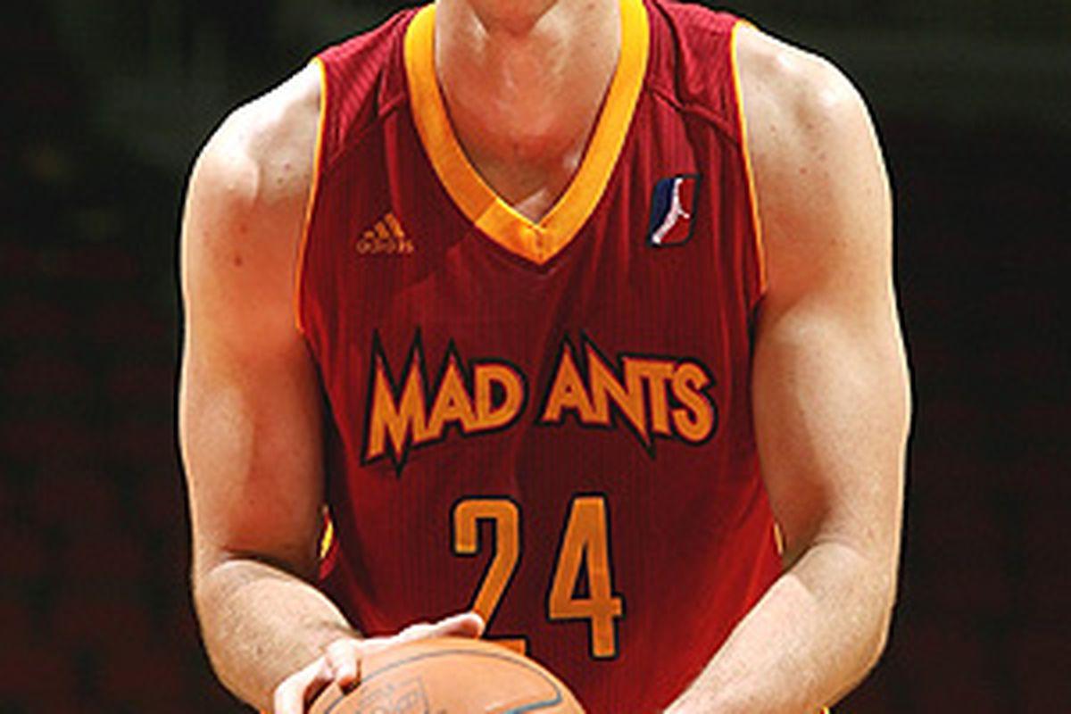Rob Kurz is making plans for an NBA comeback. Hooah!