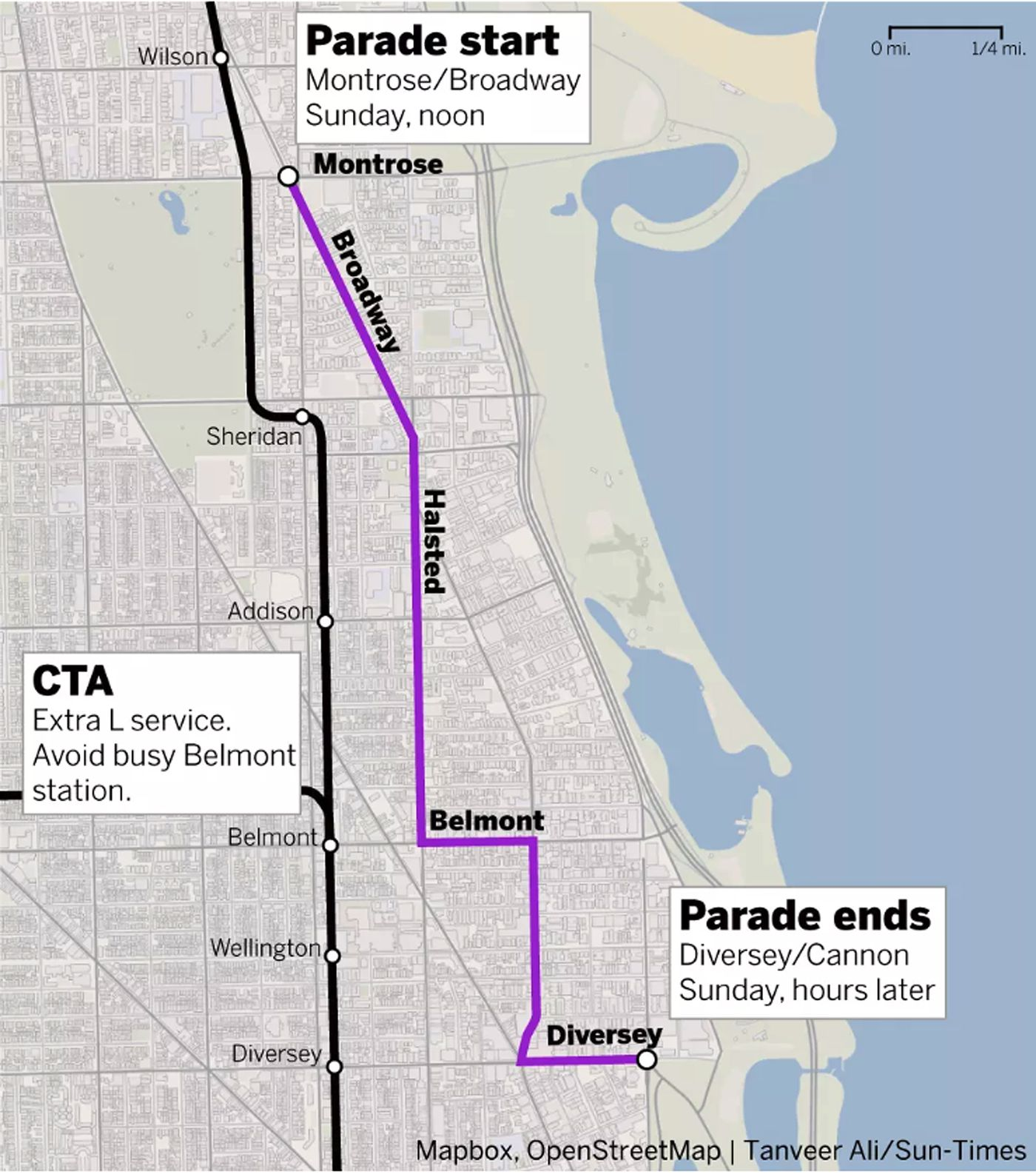 Chicago Pride Parade: Start times, routes and everything else ... on