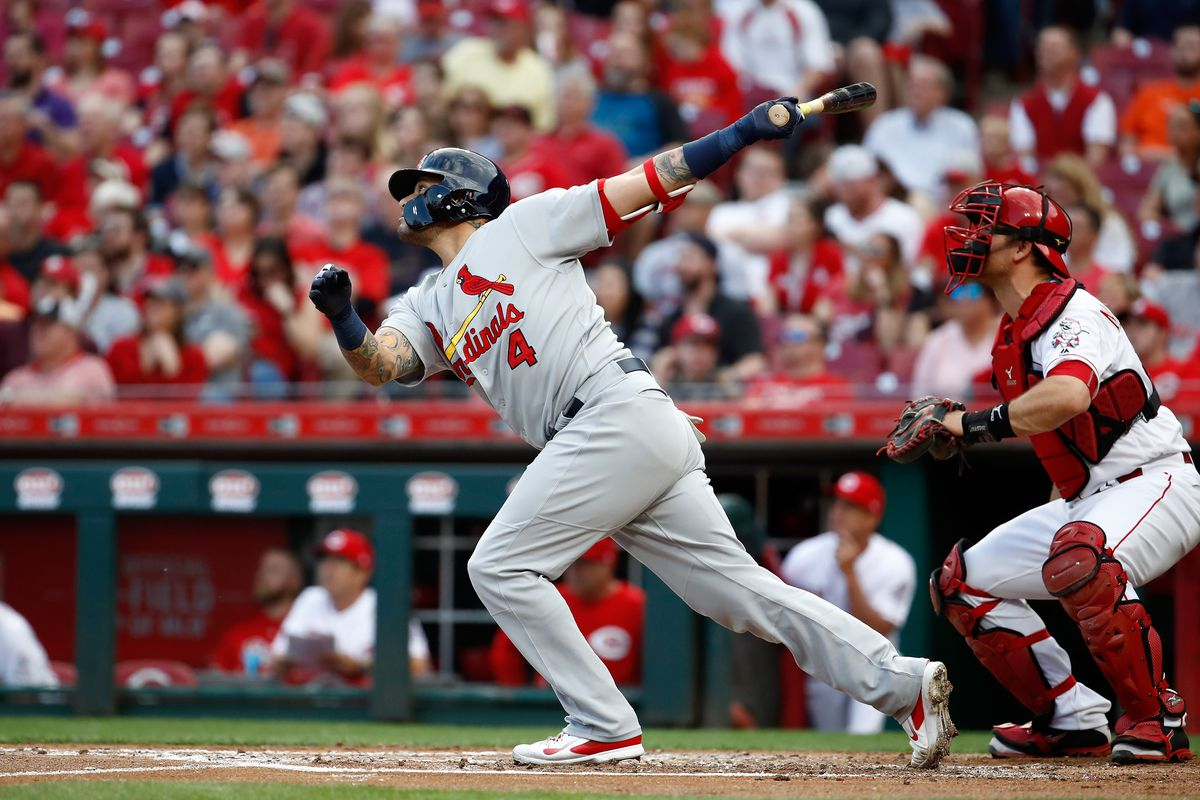 57bf5750 April 13 Cardinals-Reds Recap: Weaver and Molina carry Cards over ...