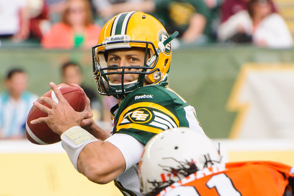 Edmonton Eskimos quarterback Mike Reilly is a supporter of the You Can Play project.