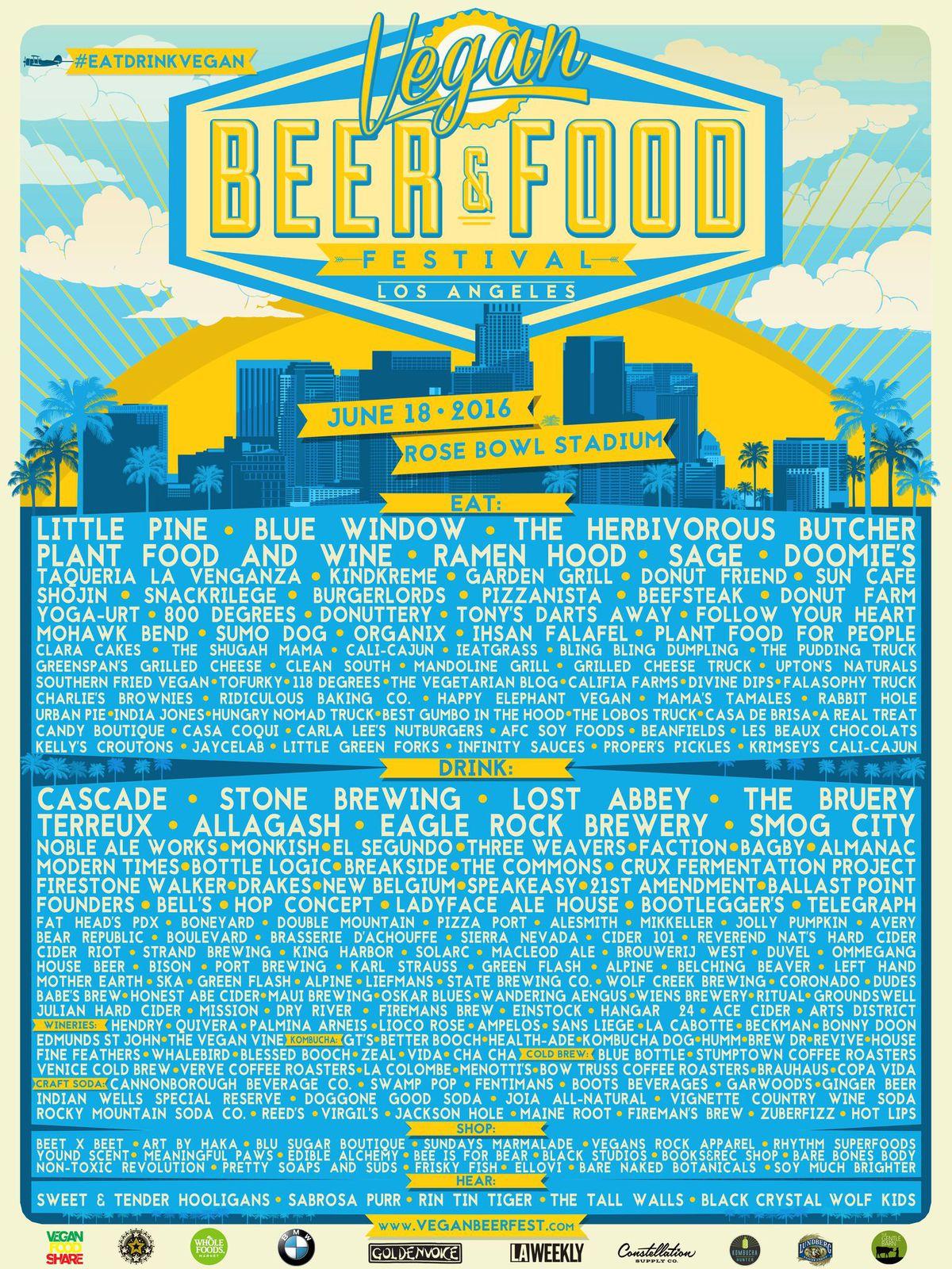 Vegan Beer Fest 2016