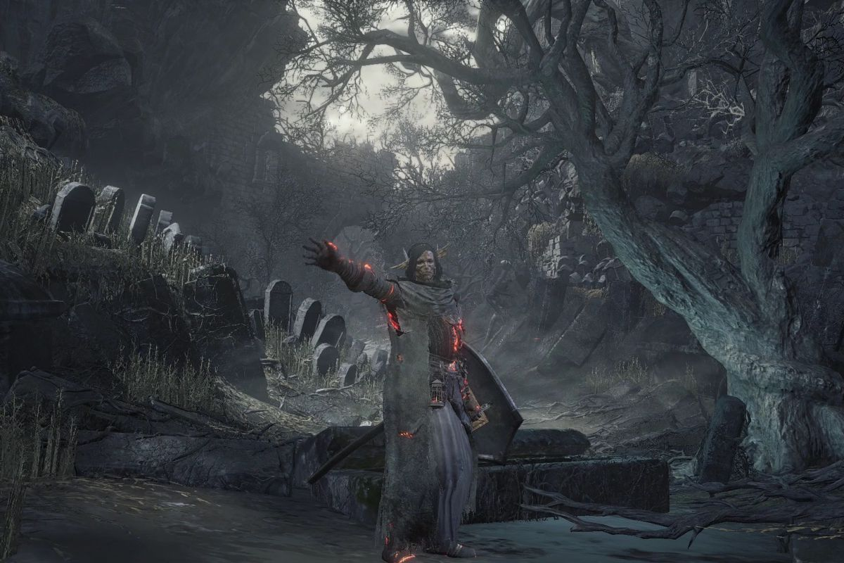 Dark Souls 3 Cemetery Of Ash Walkthrough Polygon
