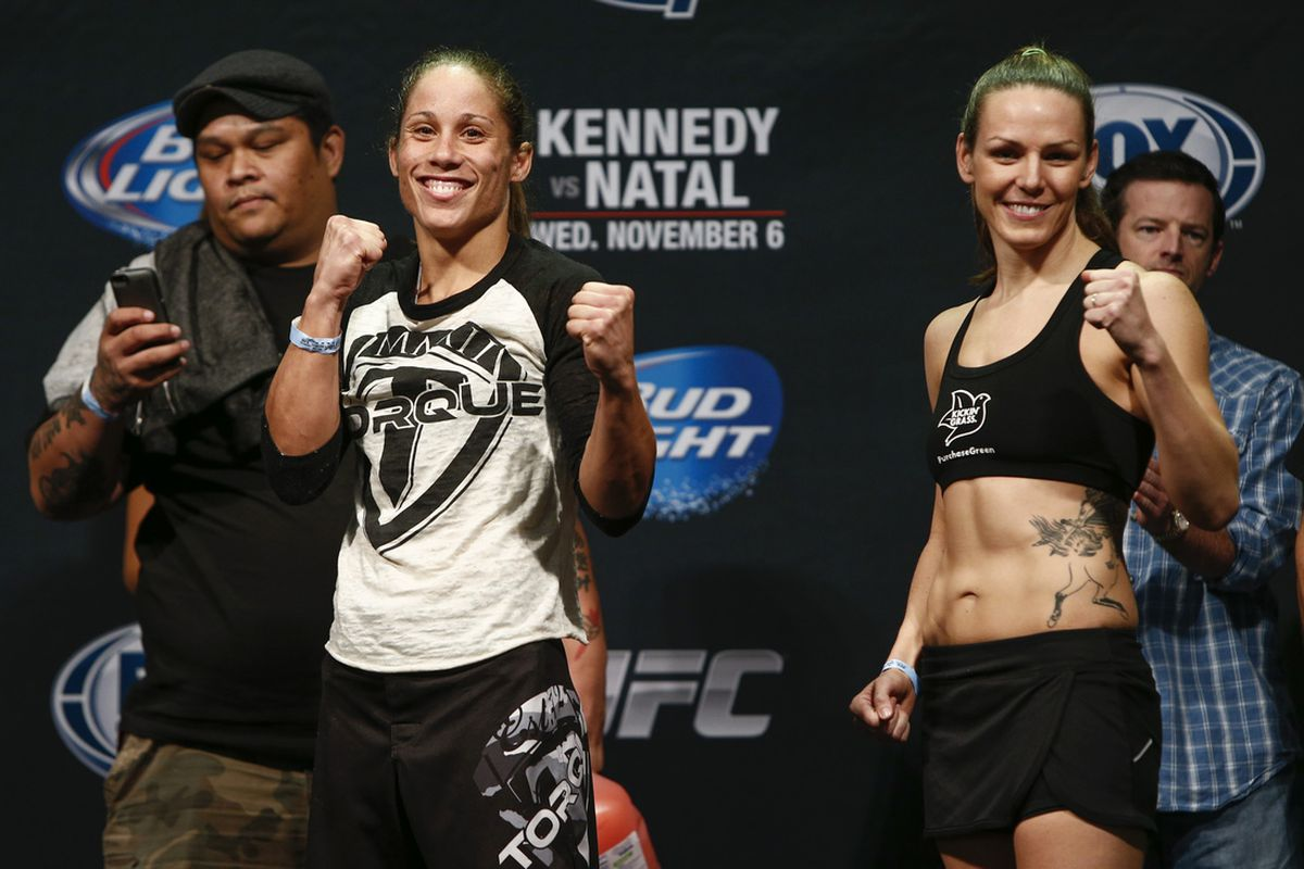 ufc fight for the troops 3 live blog liz carmouche vs alexis davis