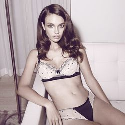 """<b><a href=""""http://morgan-lane.com/"""">Morgan Lane:</a></b> Because in an era of sporty, pared-down lingerie, she's giving old-fashioned va va voom."""