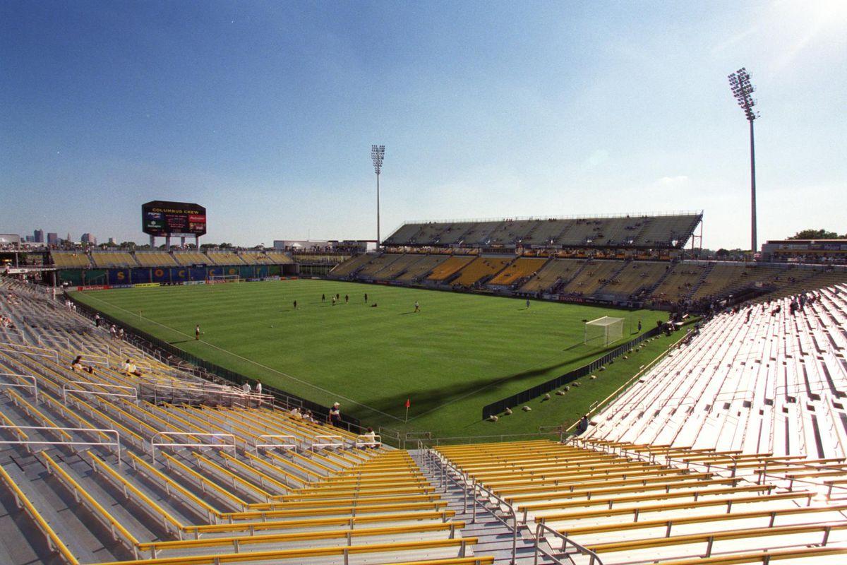 American Soccer - MLS - Columbus Crew v Washington DC United