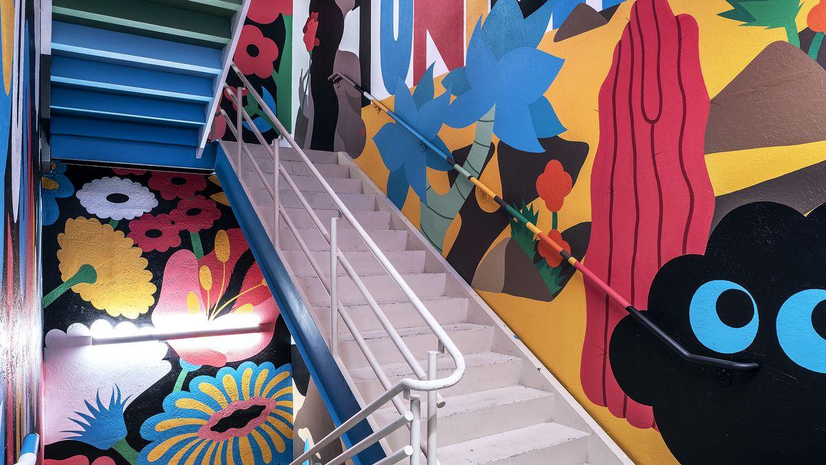 Pop art at Vetri Cucina