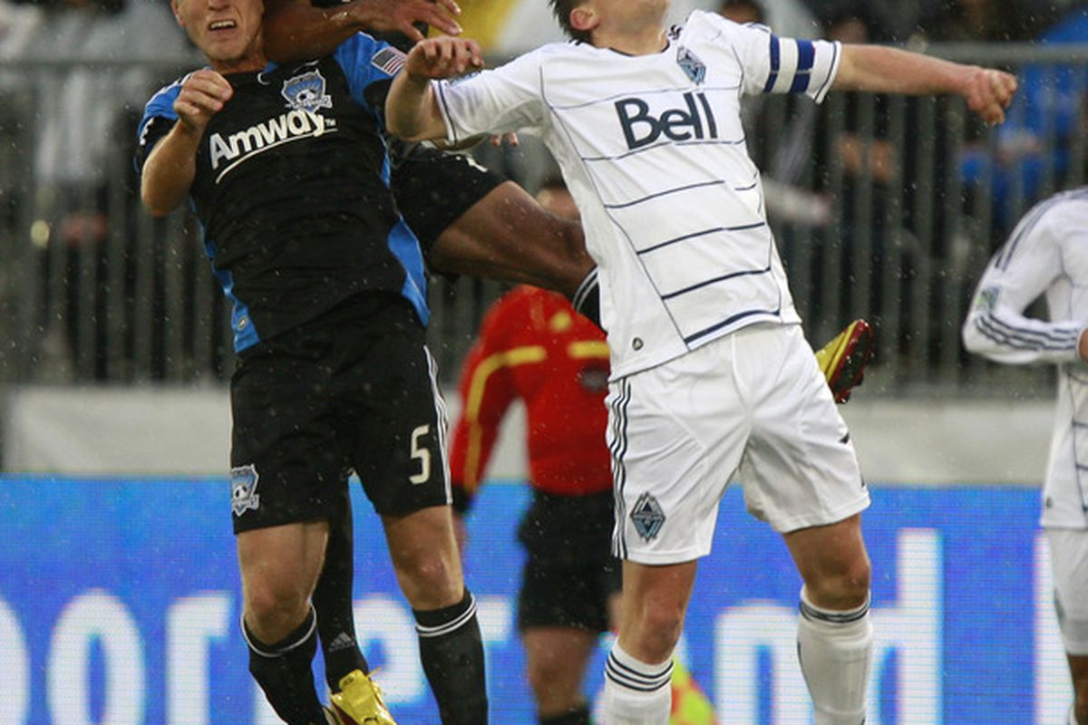 The Earthquakes and Whitecaps battled hard in a 1-1 draw Wednesday night at Empire Field, but should San Jose have held on for a victory?