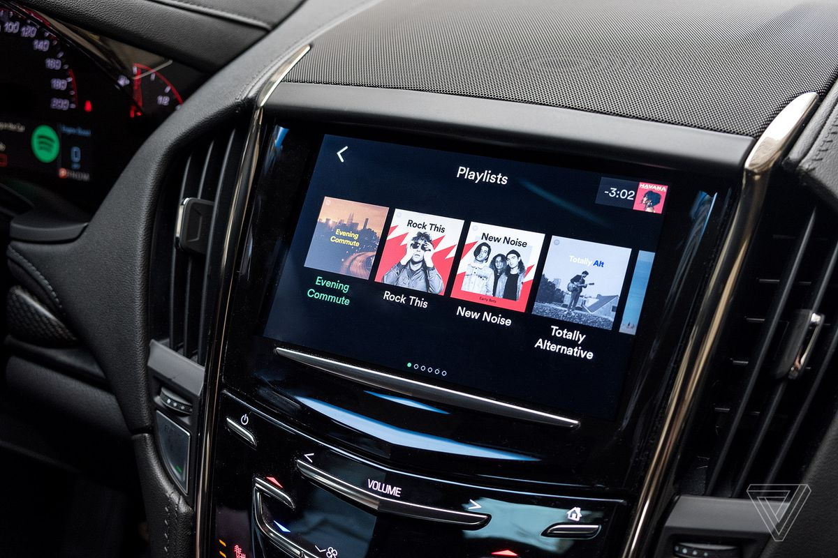 Spotify launches a sleek standalone app for Cadillac vehicles - The