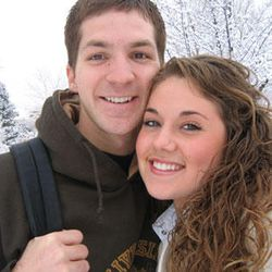 John and his wife, Emily Dawn Jones.