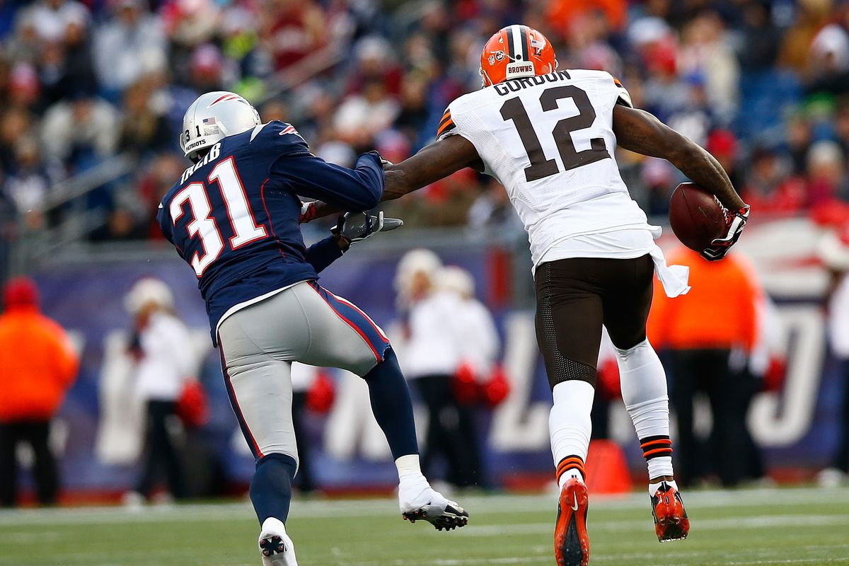The Patriots and Browns tweaked the trade for Josh Gordon in New England s  favor - Pats Pulpit c94abb165