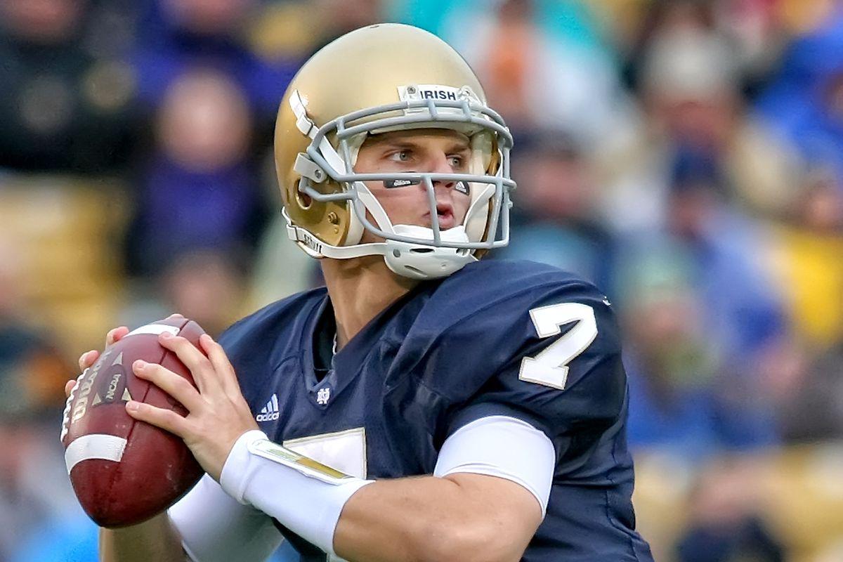 NCAA FOOTBALL: Notre Dame's Jimmy Clausen