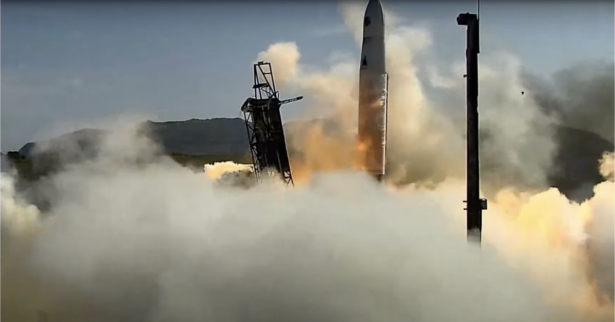 Astra rocket does a real smooth slide before failing to reach orbit