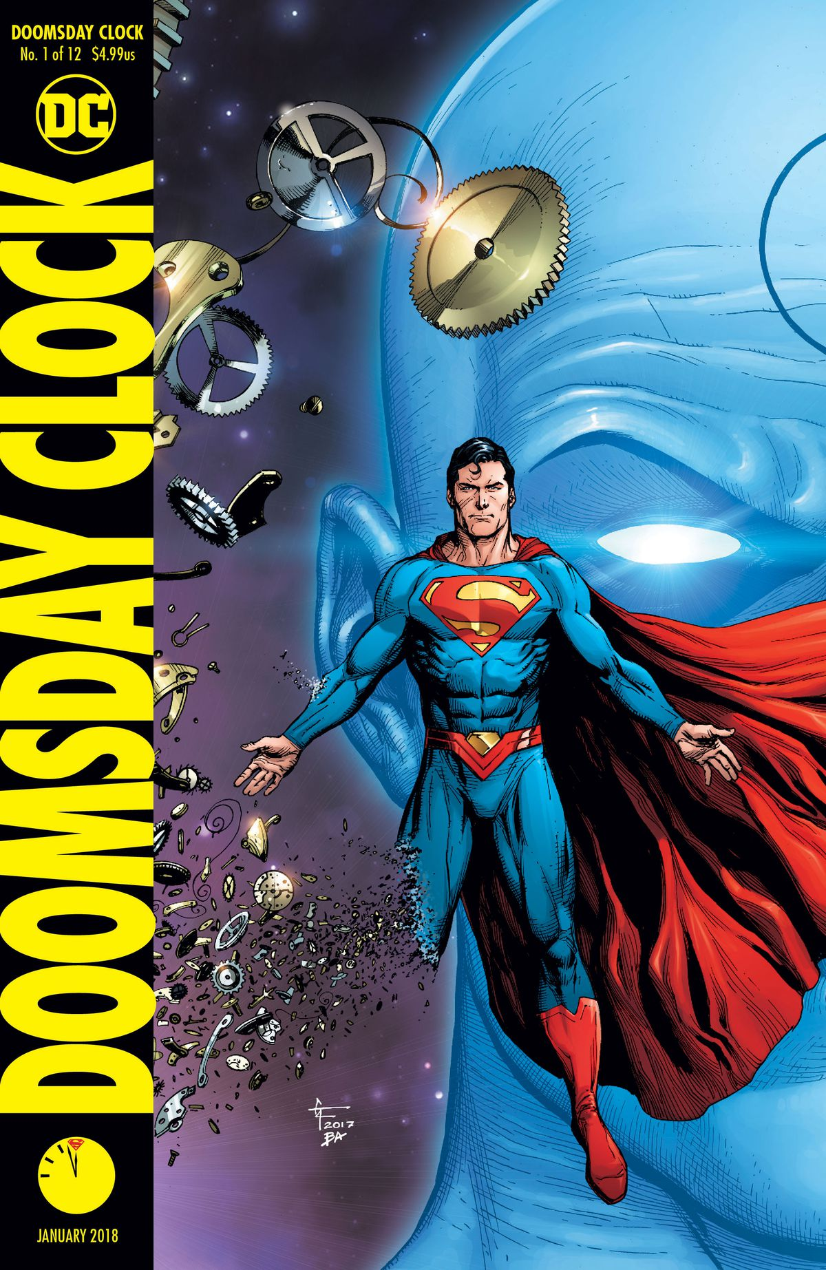 Dc S Watchmen Sequel Doomsday Clock Can T Match The Hbo Show In
