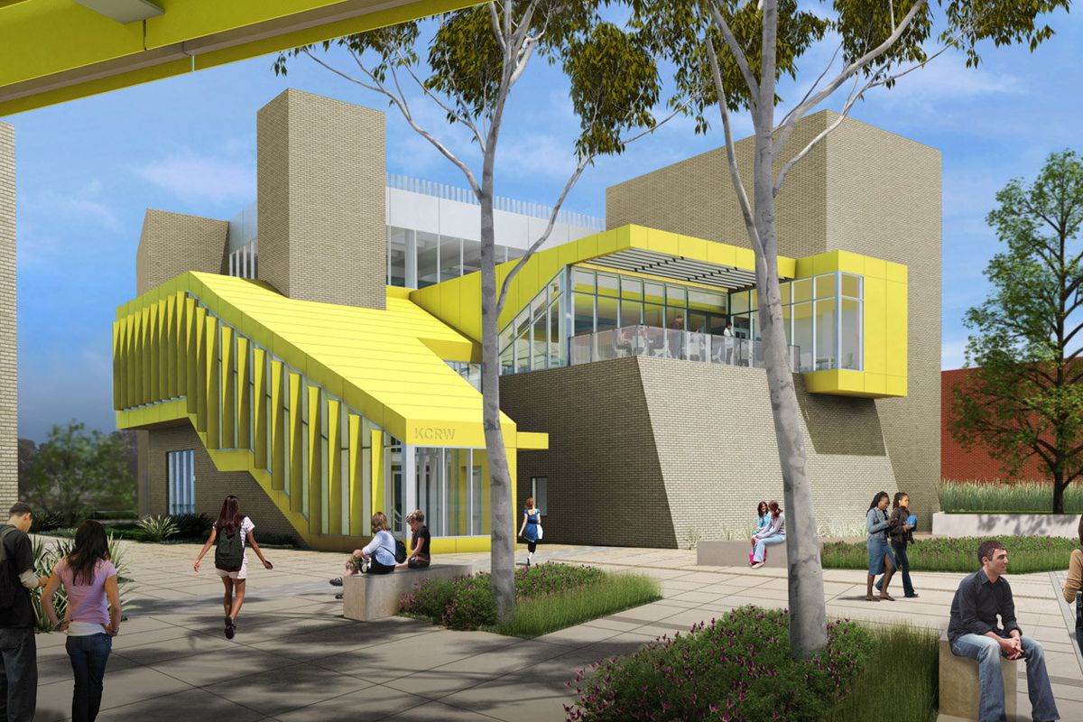 """Rendering via <a href=""""http://la.curbed.com/archives/2014/06/behold_kcrws_enormous_new_samo_headquarters_rendered.php"""">Curbed LA</a>"""
