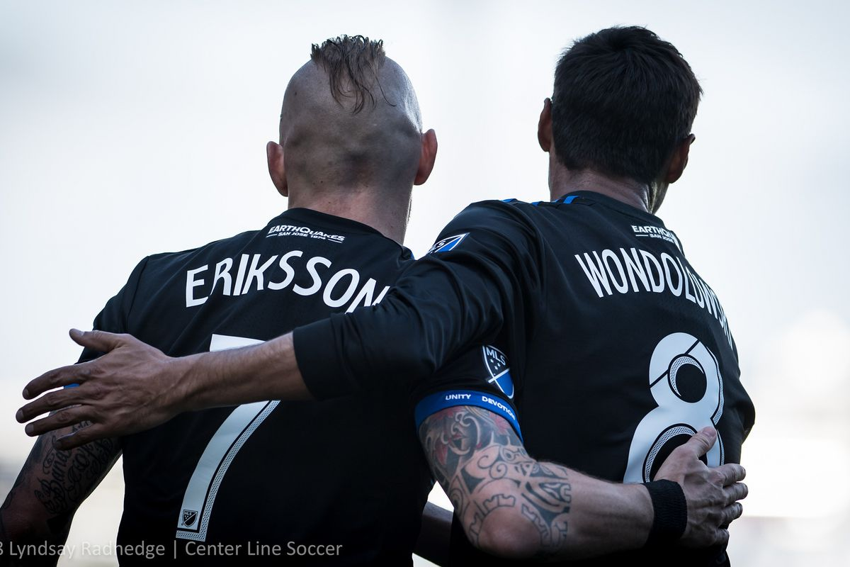 Where in the MLS standings will the San Jose Earthquakes
