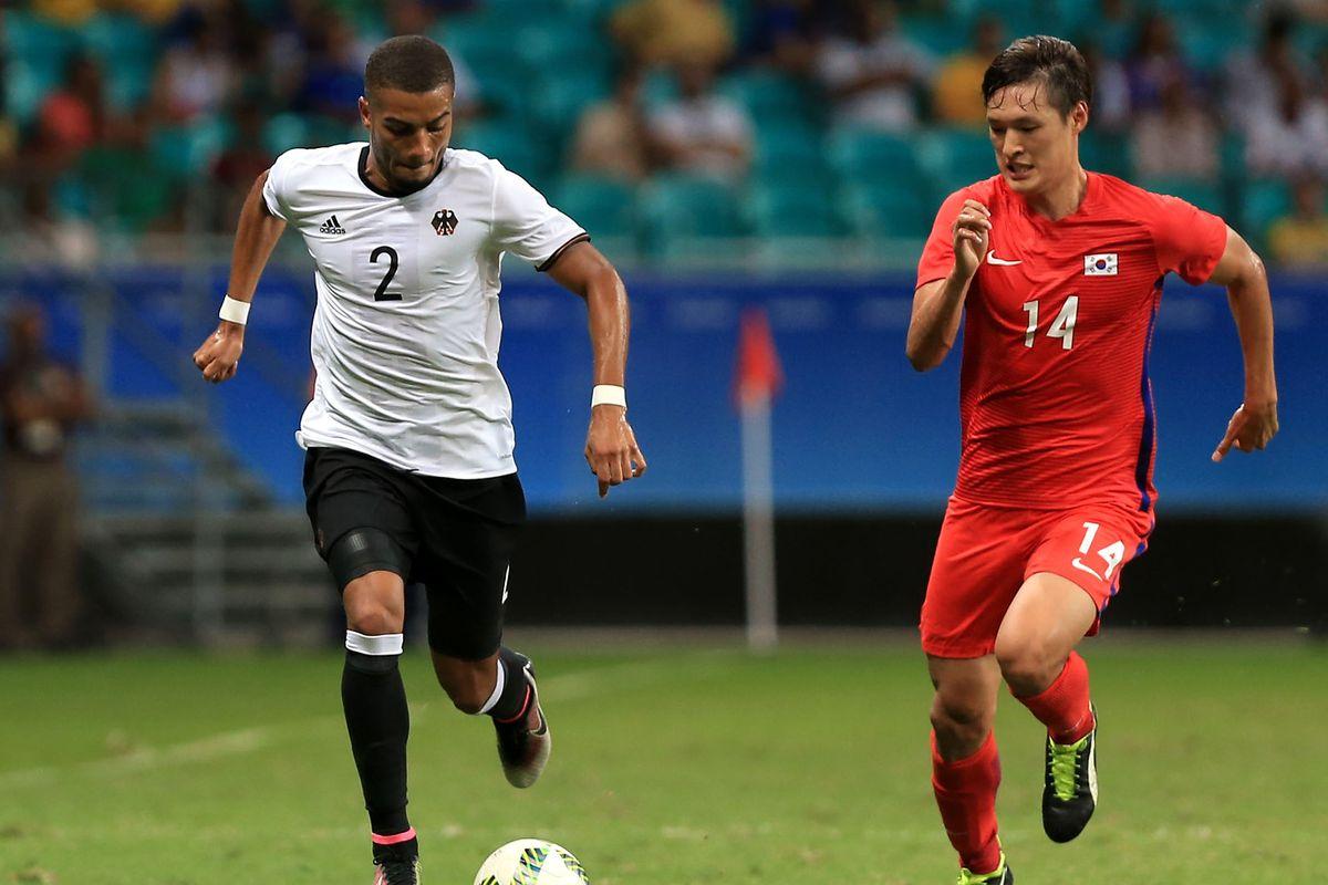 Germany v Korea Republic: Men's Football - Olympics: Day 2