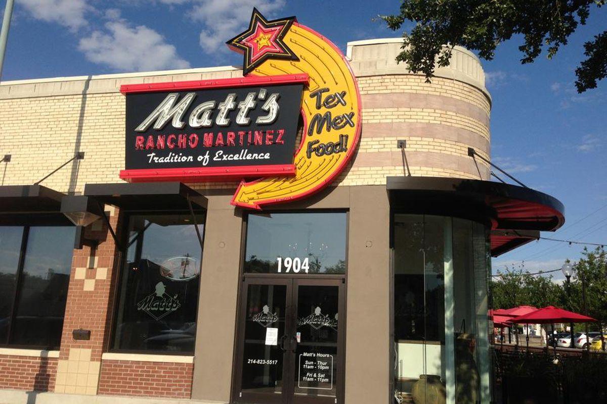 Matt's in Lakewood.