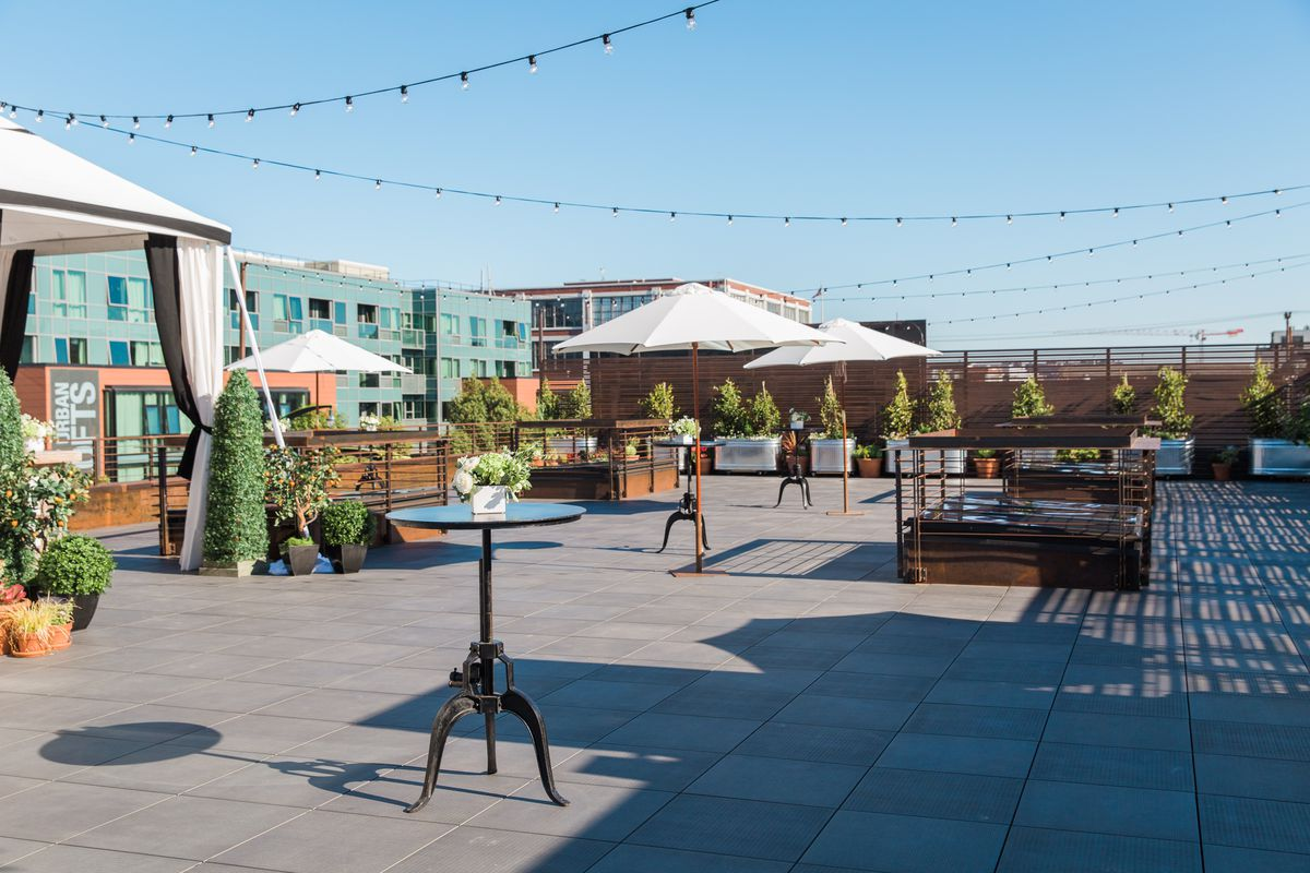 School Night Bar In Dogpatch Adds Rooftop Drinking And