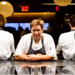 RJ Cooper and his team. The average age of his chefs is 21, he says.